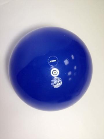 Мяч AMAYA 18,5 см прозрачный для художественной гимнастики
