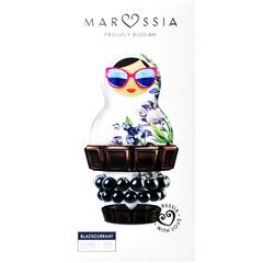 Marussia Шоколад темный 54%  со смородиной  90 г