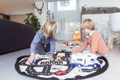 Коврик-мешок для игрушек (2 в 1) Play&Go Print ДОРОЖНАЯ КАРТА 79972 4