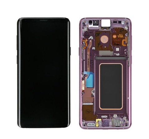LCD SAMSUNG Galaxy S9 Plus G965F + Touch + Frame Purple Orig