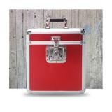 Кейс Для Виниловых Пластинок, Красный (Flight Case 25 LP Rock On Wall)