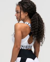 Топ NEBBIA Power Your Hero iconic sports bra 535 WHITE