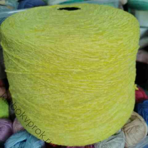 Велюр бобинный 225м/50гр 4508, Желтый
