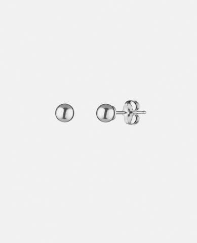 Серьги-гвоздики Ball silver 6 mm