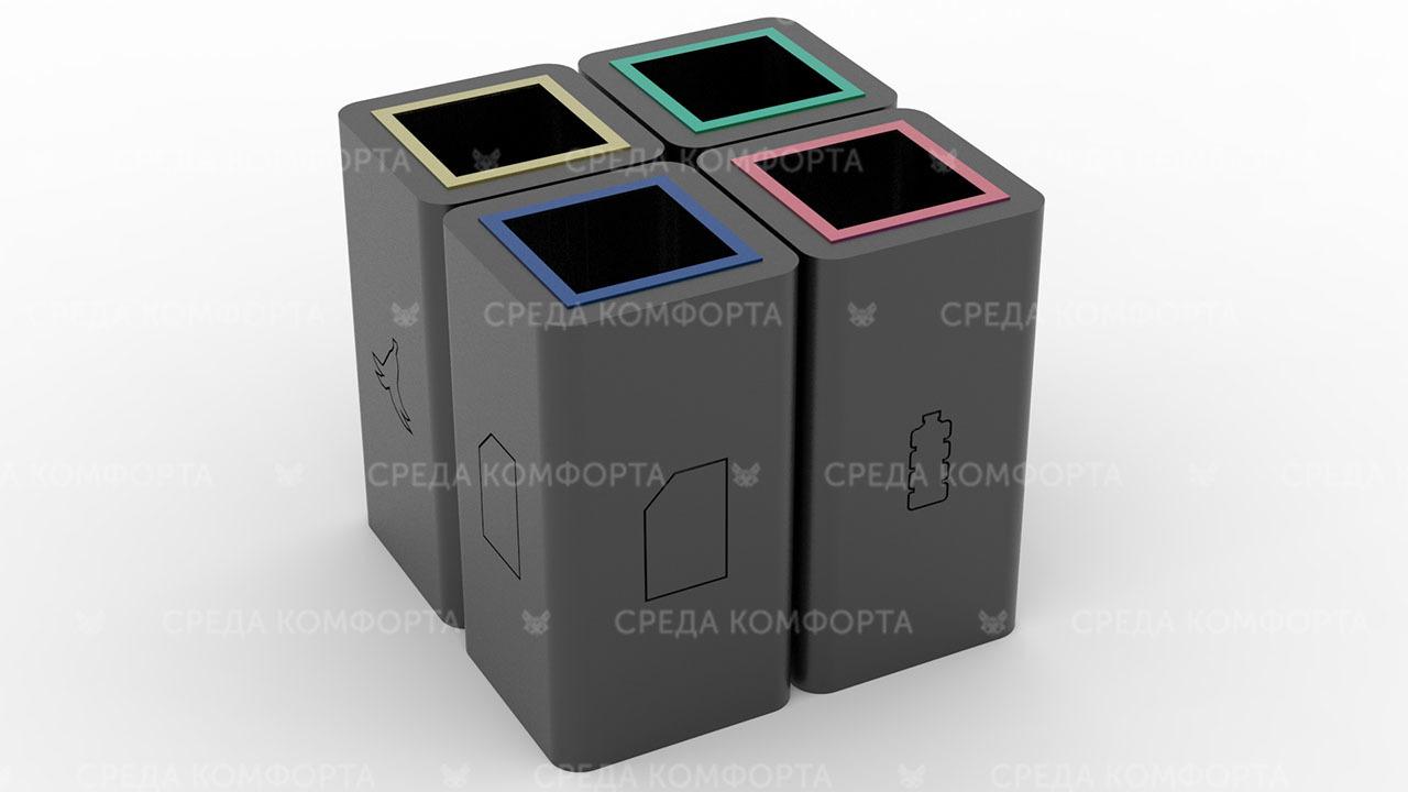 Урна для раздельного сбора мусора URN0153