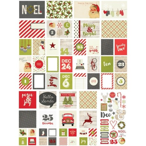 Набор карточек для Project Life Claus&CO