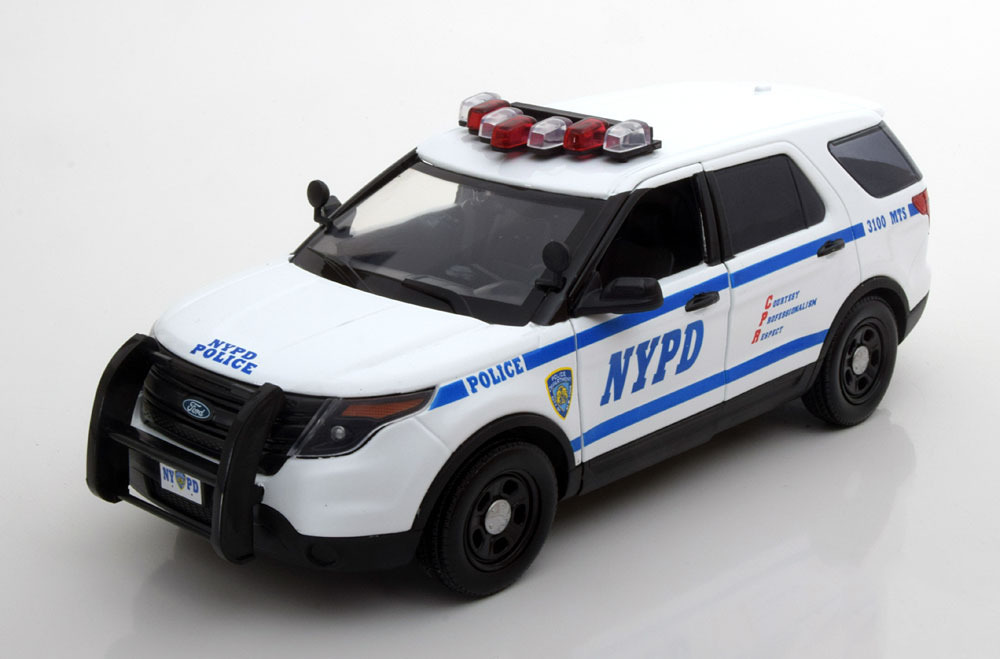 Коллекционная модель FORD Police Interceptor Utility NYPD 2015
