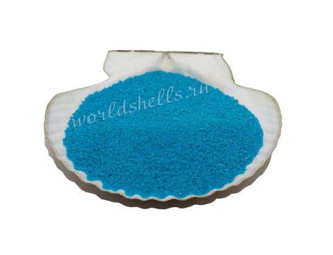 Голубой цветной песок 300 гр.