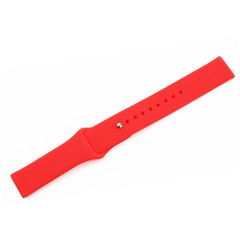 Cиликоновый ремешок COTEetCI W40 Silicone Band (WH5273-RD) для Samsung Galaxy Watch Active 2 20мм (Красный)
