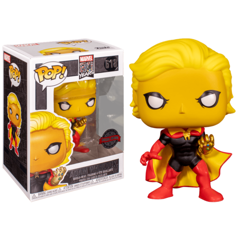 Фигурка Funko POP! Bobble: Marvel: Marvel 80th: Adam Warlock (Exc) 47534