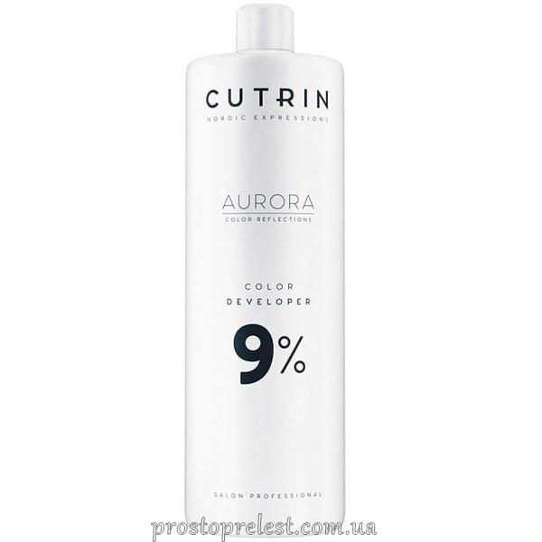 Cutrin Aurora Color Developer - Окисник для волосся 9%
