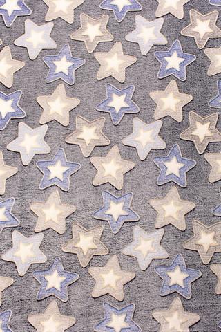 Плед с рукавами Gekoko «Светящиеся Звезды» неоновый 8