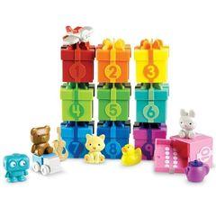 Развивающая игрушка Подарочки с сюрпризом Learning Resources (30 элементов), арт. LER6803