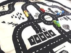 Коврик-мешок для игрушек (2 в 1) Play&Go Print ДОРОЖНАЯ КАРТА 79972 6