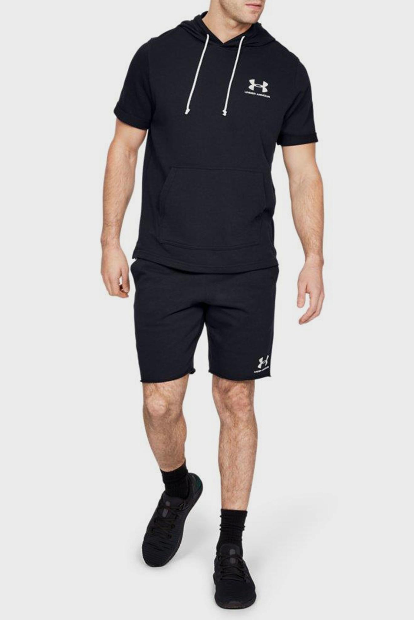 Мужские черные шорты SPORTSTYLE TERRY Under Armour