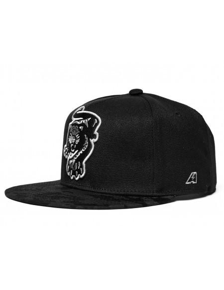 Бейсболка КХЛ ХК Сочи snapback лого чёрный камуфляж