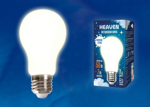 LED-A60-7W/3000K/E27/FR GLH01WH Лампа светодиодная. Форма