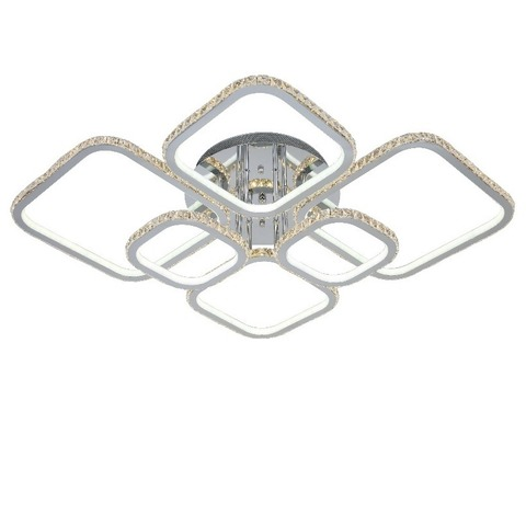 Потолочная светодиодная люстра NL-6604/2*3 M CH