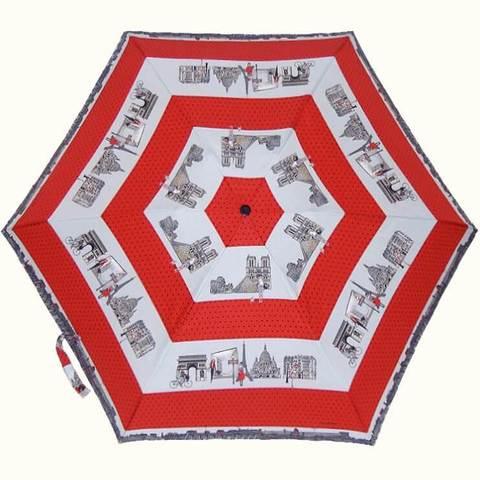 Мини зонтик Париж купить