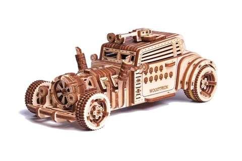 Машина Апокалипсис от Wood Trick - Деревянный конструктор, сборная модель, 3d пазл
