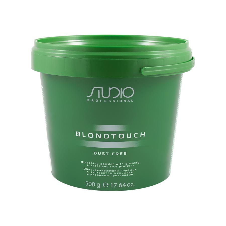 Обесцвечивающий порошок для волос с экстрактом женьшеня и рисовыми протеинами Kapous 500 гр