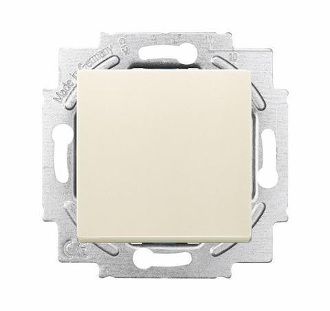 Выключатель/переключатель одноклавишный на 2 направления(проходной). Цвет Слоновая кость. ABB (АББ). Dynasty/Solo/Future/Axcen/Carat/Pure. 1012-0-2110+1751-0-3083