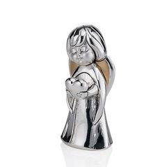 Серебряная фигурка Ангел с сердцем