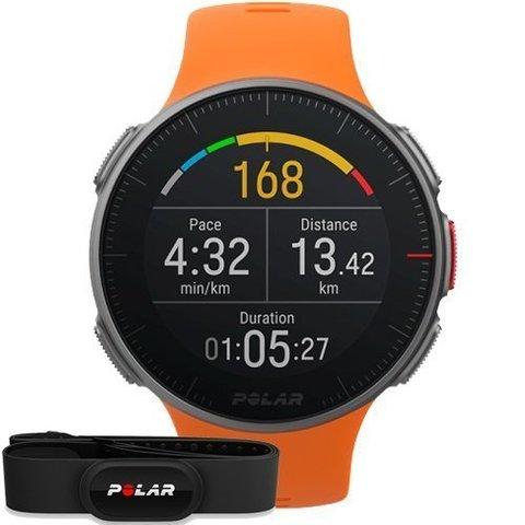 Часы Polar Vantage V с датчиком H10 оранжевые