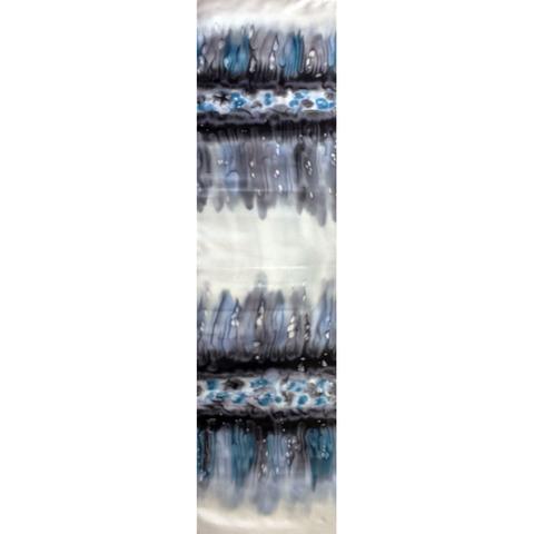 Шелковый шарф батик Льдинка С-21