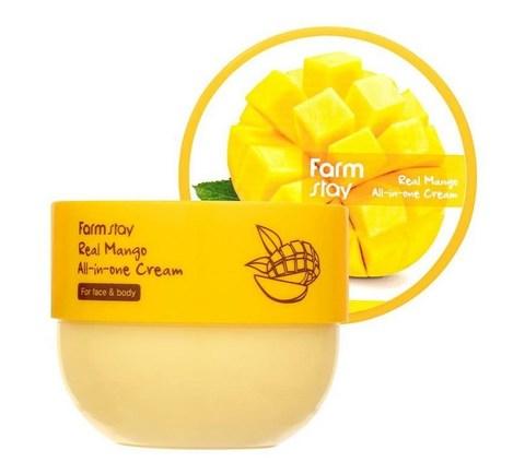 FarmStay Питательный крем для тела и лица с манго Real Mango All-in-one Cream 300 мл