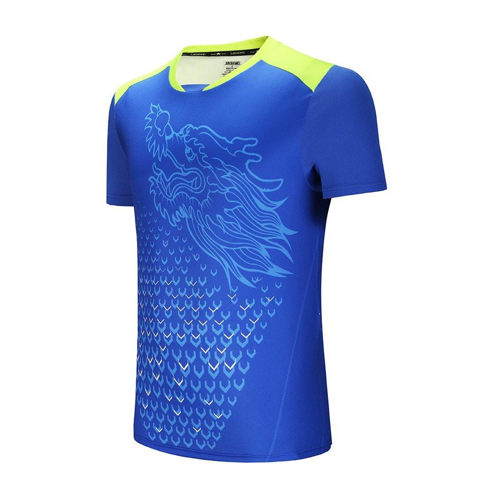 Футболка для тенниса Dragon Blue