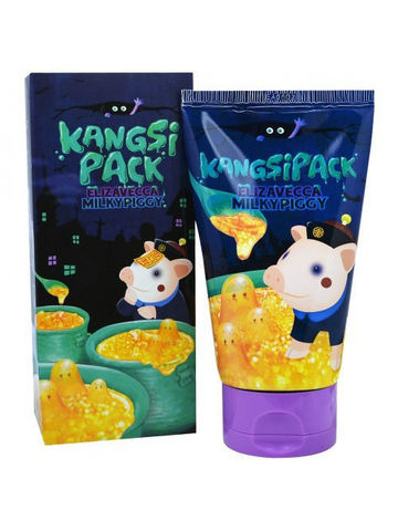 Elizavecca Milky Piggy Kangsipack маска для сужения пор с золотом
