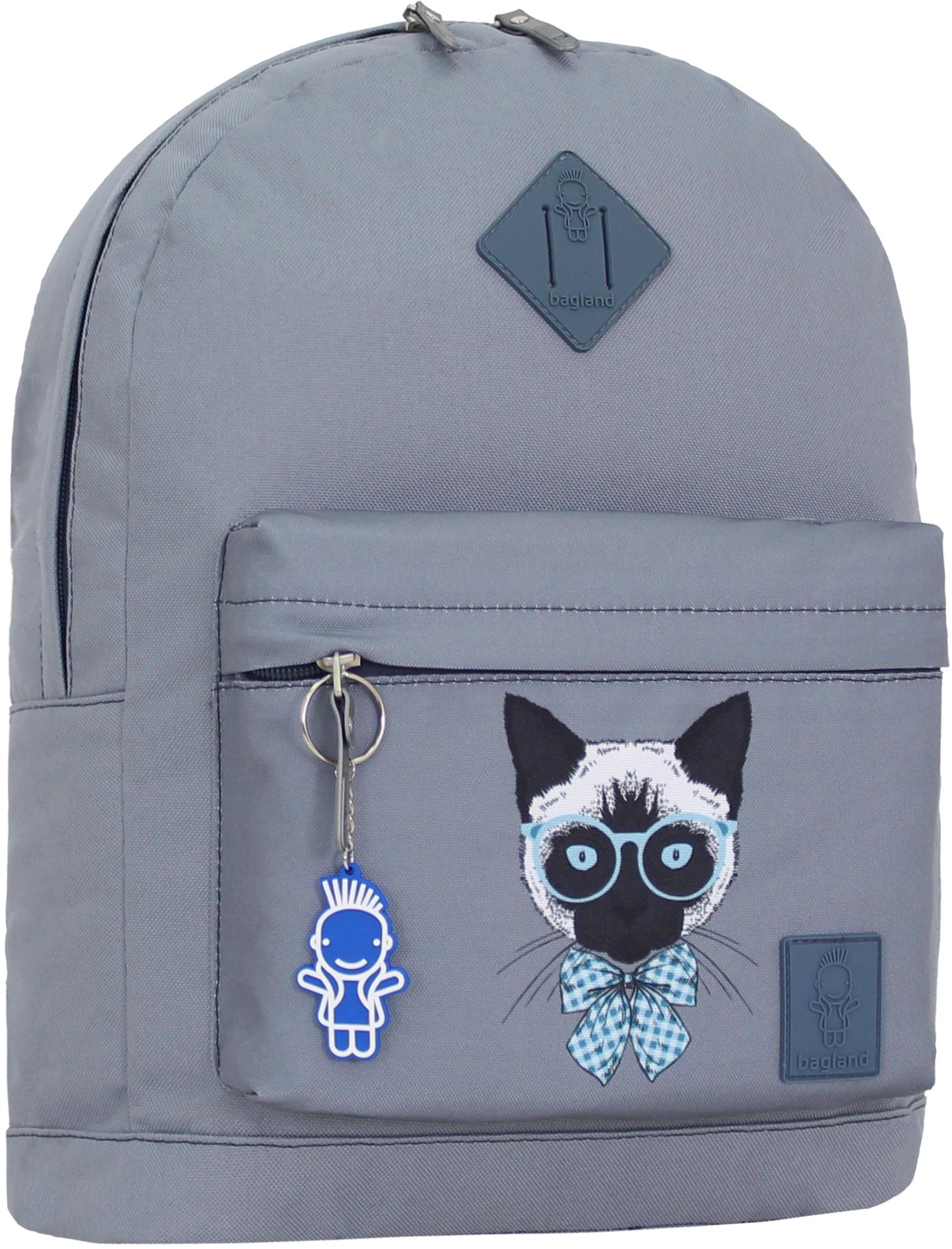 Городские рюкзаки Рюкзак Bagland Молодежный W/R 17 л. серый 193к (00533662) IMG_0844_193к.JPG