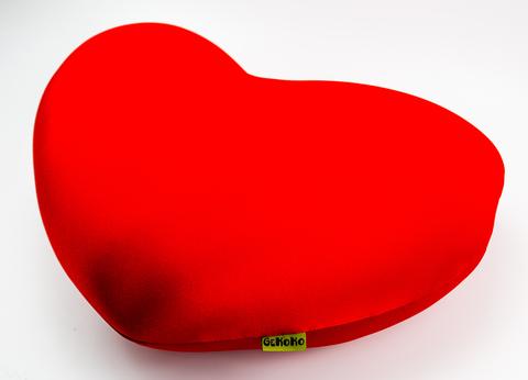 Подушка-игрушка антистресс Gekoko «Большое красное сердце» 5