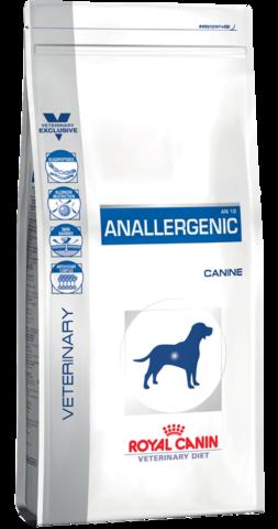 Royal Canin ANALLERGENIC AN18 для собак при пищевой аллергии