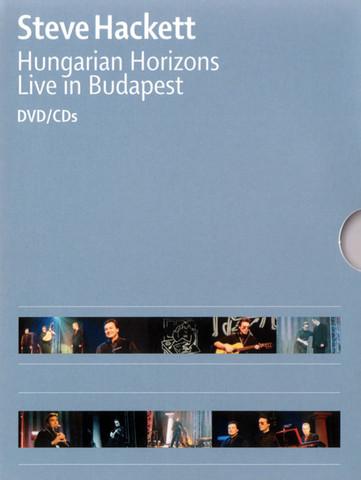 HACKETT, STEVE: Hungarian Horizons - Live In Budapest