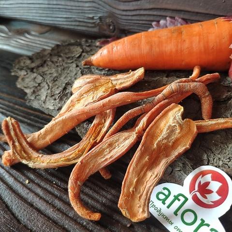 Фотография Чипсы овощные Морковь, 50 г купить в магазине Афлора