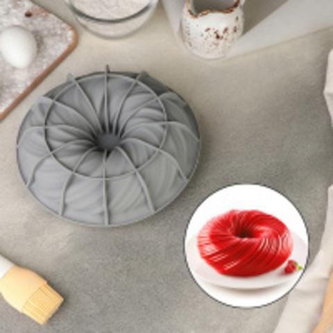 Форма силиконовая для муссовых десертов