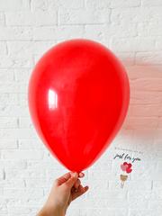 Воздушный шар красный кристалл