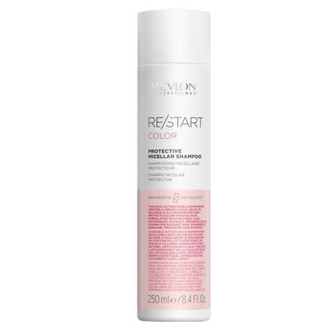 REVLON Restart Color: Мицеллярный шампунь для окрашенных волос (Protective Micellar Shampoo), 250мл/1л
