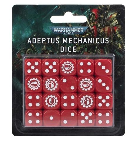 Набор кубиков Адептус Механикус (Adeptus Mechanicus Dice), арт. 59-07