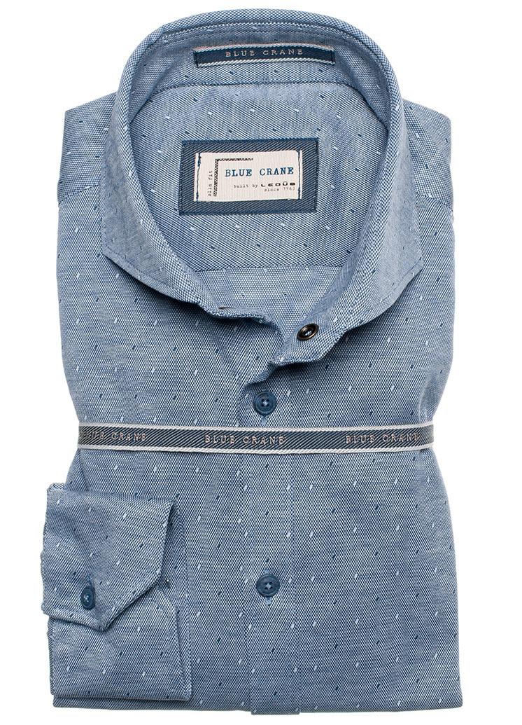 Рубашка Blue Crane slim fit 0136658-140-000-000-SF-Blue