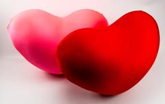Подушка-игрушка антистресс Gekoko «Большое красное сердце» 4