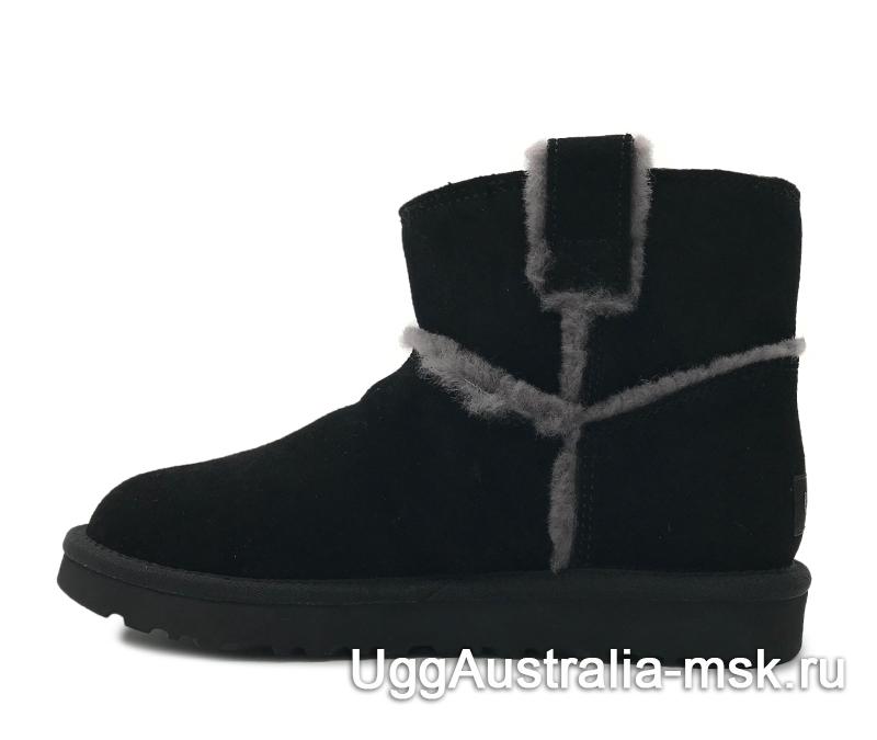 UGG Classic Mini Top Wool Black