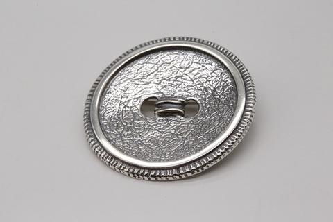 Брошь из серебра 925 пробы без пробок Литва