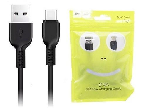 Hoco / Кабель X13 Type-C - USB черный | 1м