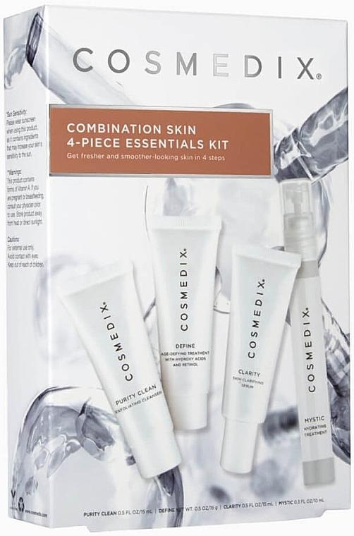 Набор Cosmedix Combination Skin 4-Piece Essentials Kit