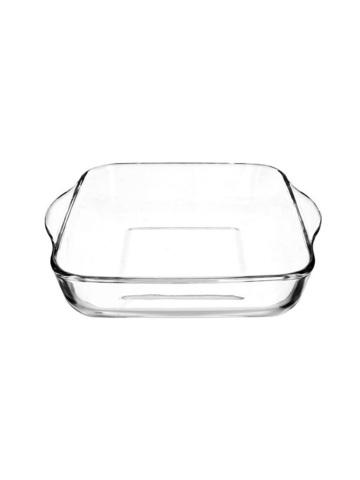 Квадратная форма для запекания 1,95 литра Borcam 59034 жаропрочная стеклянная форма для СВЧ 22 х 22 х 6 см рубашка