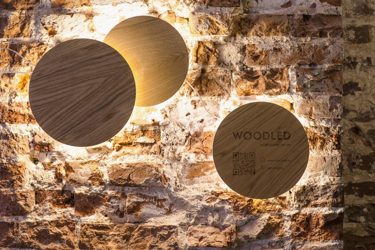 Настенный светильник CIRCLE Moon&Sun - вид 3