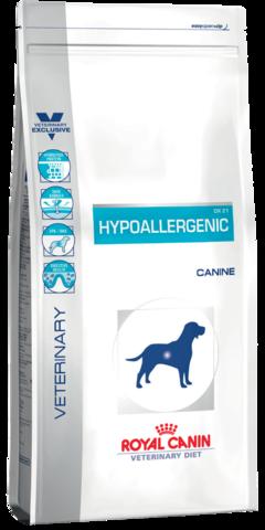 R.C. Гипоаллерген Канин  ДР 21 д/собак при пищевой аллергии 14кг
